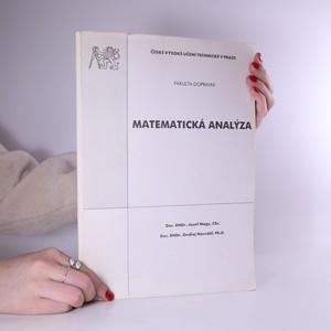 náhled knihy - Matematická analýza