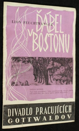 náhled knihy - Ďábel v Bostonu (prospekt k představení