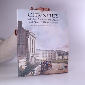 náhled knihy - Christie's Valuable Architecture, Atlases and Natural History Books