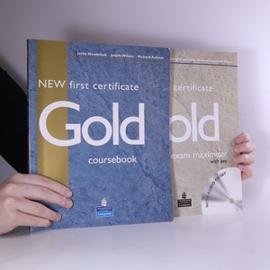 náhled knihy - New first certificate Gold. Coursebook + Exam Maximiser with key (bez CD, místy vyplněná tužkou)
