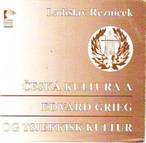 náhled knihy - Česká kultura a Edvard Grieg. OG tsjekkisk kultur.