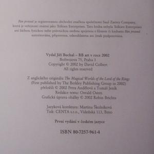 antikvární kniha Kouzelný svět Pána prstenů , 2002