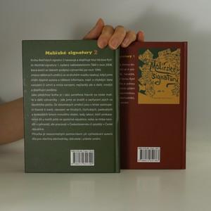 antikvární kniha Malířské signatury 1. a 2. (2 svazky), 2013