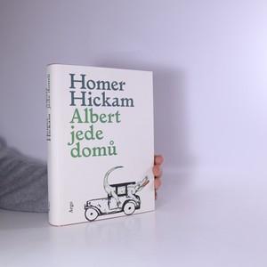 náhled knihy - Albert jede domů : víceméně pravdivý příběh o muži, jeho manželce a jejím aligátorovi