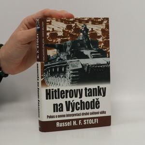 náhled knihy - Hitlerovy tanky na východě