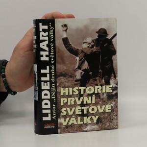 náhled knihy - Historie první světové války