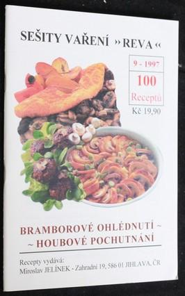 náhled knihy - Sešity vaření 9: Bramborové ohlédnutí, houbové pochutnání