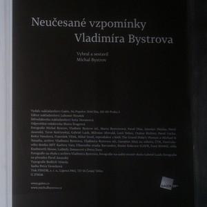 antikvární kniha Neučesané vzpomínky Vladimíra Bystrova, neuveden