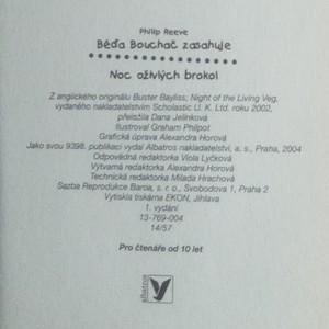 antikvární kniha Noc oživlých brokol, 2004