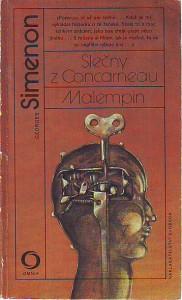 náhled knihy - Slečny z Concarneau. Malempin.