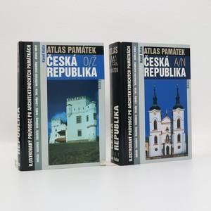 náhled knihy - Atlas památek - Česká republika I+II (2 svazky, komplet, viz foto)