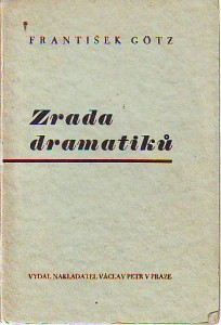 náhled knihy - Zrada dramatiků