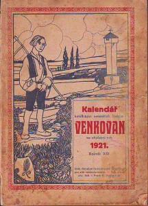 náhled knihy - Kalendář katolických zemědělců Venkovan na obyčejný rok 1921. Ročník XIII.