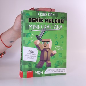 náhled knihy - Deník malého Minecrafťáka