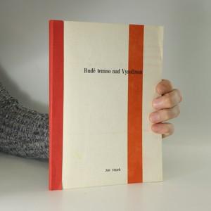 náhled knihy - Rudé temno nad Vysočinou (věnování autora)