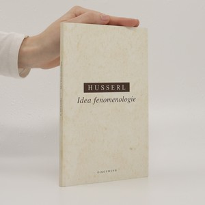 náhled knihy - Idea fenomenologie