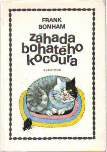 náhled knihy - Záhada bohatého kocoura