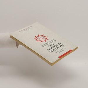 antikvární kniha Prohlášení ke světovému étosu : deklarace Parlamentu světových náboženství, 1997