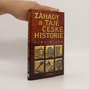 náhled knihy - Záhady a taje české historie