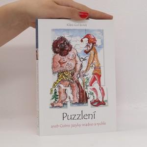náhled knihy - Puzzlení, aneb, Cizími jazyky snadno a rychle (věnování autorky)