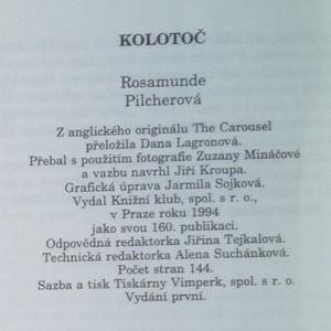 antikvární kniha Kolotoč, 1994