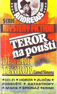 náhled knihy - Teror na poušti