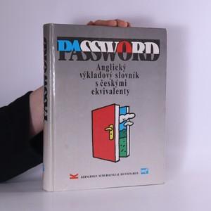 náhled knihy - Password : Anglický výkladový slovník s českými ekvivalenty