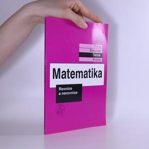 náhled knihy - Matematika. Rovnice a nerovnice