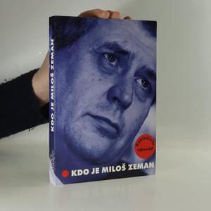 náhled knihy - Kdo je Miloš Zeman