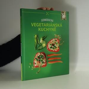 náhled knihy - Jednoduchá vegetariánská kuchyně