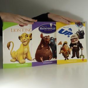 náhled knihy - The Lion King. Ratatouille. Up (3 sešíty)