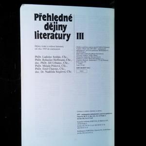 antikvární kniha Přehledné dějiny literatury. 3. díl, 1997