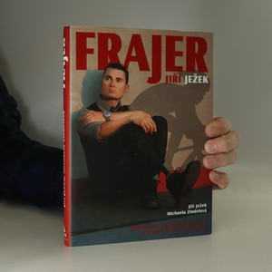 náhled knihy - Frajer Jiří Ježek : příběh paralympijského vítěze a mistra světa v cyklistice (podpis autora)