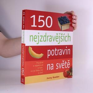náhled knihy - 150 nejzdravějších potravin na světě