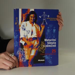 náhled knihy - Maturitní témata v němčině. 25 Konversationsthemen