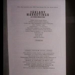 antikvární kniha Základy marketingu pro střední školy, 1999