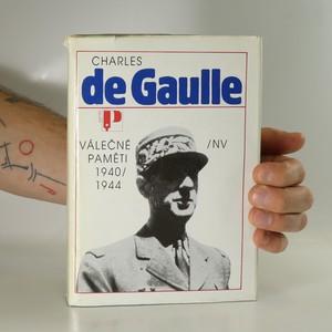 náhled knihy - Válečné paměti 1940-1944