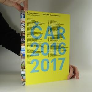 náhled knihy - Česká architektura 2016-2017 = Czech architecture