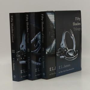 náhled knihy - Fifty Shades trilogie (3 svazky v boxu) (anglicky)