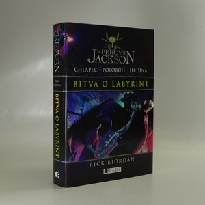 náhled knihy - Percy Jackson. Bitva o labyrint