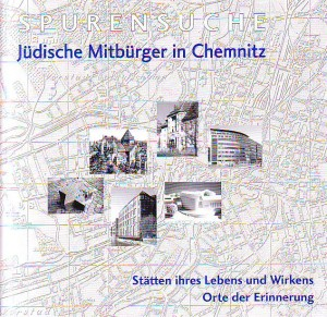 náhled knihy - Spurensuche. Jüdische Mitbürger in Chemnitz.