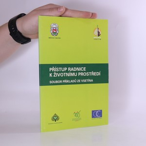 náhled knihy - Přístup radnice k životnímu prostředí