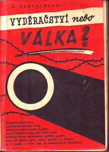 náhled knihy - Vyděračství nebo válka?