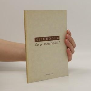 náhled knihy - Co je metafyzika?