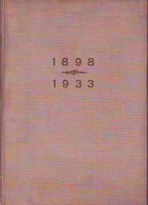 náhled knihy - Pamětní spis vydaný u příležitosti 35ti letého trvání Ústavu pro zvelebování živností technologického průmyslového musea  1898 - 1933