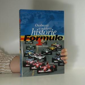náhled knihy - Osobnosti a události historie Formule 1 - Dějiny formule 1