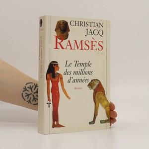 náhled knihy - Ramses. La Temple des millions d'années