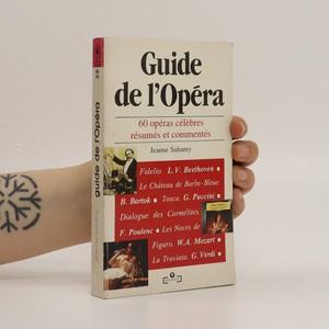 náhled knihy - Guide de l'opéra