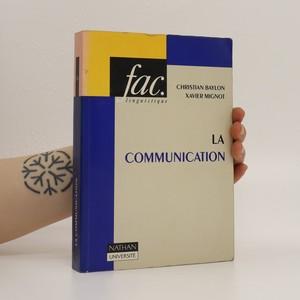 náhled knihy - La communication