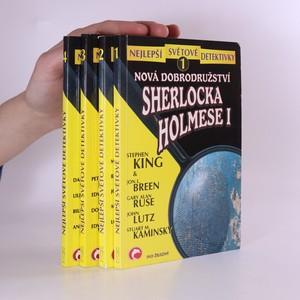 náhled knihy - Nová dobrodružství Sherlocka Holmese. 1. - 4. díl. (4 svazky)